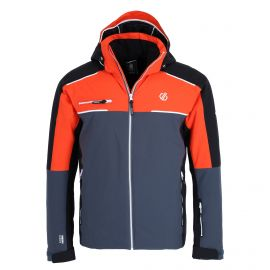 Dare2b, Intermit Ii Jacket kurtka narciarska mężczyźni trail blaze szary/czerwony