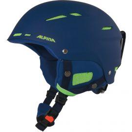Alpina, Biom ski helmet kask navy matt  niebieski