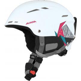 Alpina, Biom ski helmet, kask, różowy/biały
