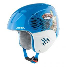 Alpina, Carat set Disney (helm en goggle), kask, dzieci, Donald Duck niebieski