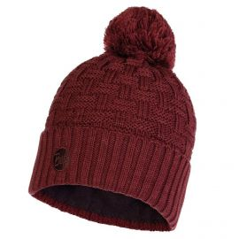 Buff, Airon Knitted and Polar Hat, czapka, maroon
