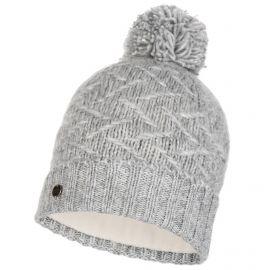 Buff, Ebba Knitted & Polar hat, czapka, cloud szary