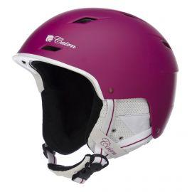 Cairn, kask narciarski, Equalizer, biało-czerwony cranberry mat