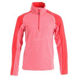 CMP, Half zip shirt melange, bluza, dzieci, ferrari melange czerwony
