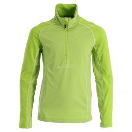 CMP, Half zip shirt melange, bluza, dzieci, lime melange zielony