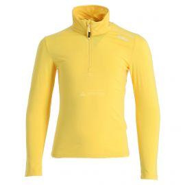 CMP, Half zip shirt melange, bluza, dzieci, melange żółty