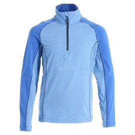 CMP, Half zip shirt melange, bluza, dzieci, royal melange niebieski