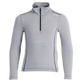 CMP, Half zip shirt pattern, bluza, dzieci, chiaccio czarny