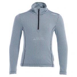 CMP, Half zip shirt pattern, bluza, dzieci, turchese niebieski