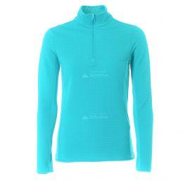 CMP, Half zip shirt, bluza, kobiety, curacao niebieska