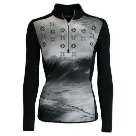 CMP, Half zip shirt, bluza, kobieca, czarna