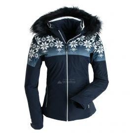 CMP, Ski jacket fix hood print, kurtka narciarska, kobiety, niebieski