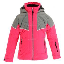 CMP, Ski jacket fix hood, kurtka narciarska, dzieci, fuxia fluo różowy
