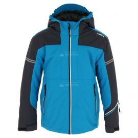 CMP, Ski jacket fix hood, kurtka narciarska, dzieci, river niebieski