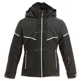 CMP, Ski jacket fix hood, kurtka narciarska, dzieci, czarny