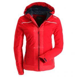 CMP, Ski jacket zip hood, kurtka narciarska, kobiety, ferrari czerwony