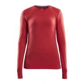 Craft, Fuseknit comfort RN LS, koszulka termoaktywna, kobiety, beam różowy