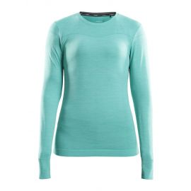 Craft, Fuseknit comfort RN LS, koszulka termoaktywna, kobiety, paradise melange niebieski