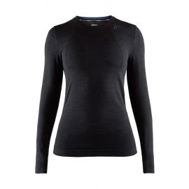 Craft, Fuseknit comfort RN LS, koszulka termoaktywna, kobiety, czarny