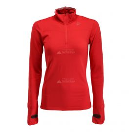 Craft, Fuseknit comfort zip, koszulka termoaktywna, kobiety, Beam różowy