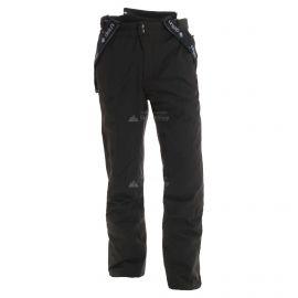 Deluni, spodnie narciarskie, krótki model, unisex, czarny