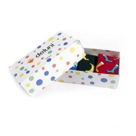 Deluni, Socks in a Box Joyride Mix (giftbox) skarpety narciarskie multicolor
