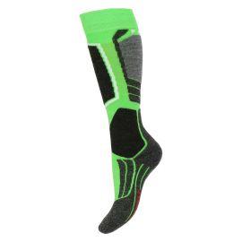 Falke SK2, skarpety narciarskie, dziecięce, vivid green