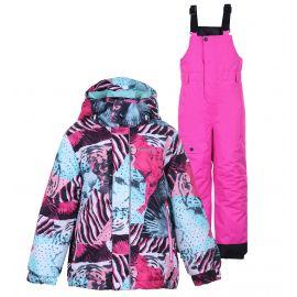 Icepeak, Jetmore KD, komplet narciarski, dzieci, hot różowy