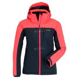 Kilpi, Flip, kurtka narciarska, duże rozmiary, kobiety, dark niebieski