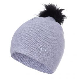 Luhta, Nahkurila knit, czapka, szary