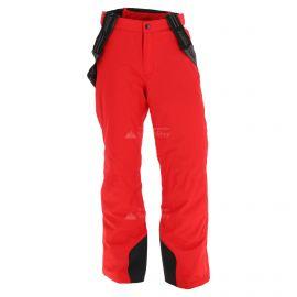 Maier Sports, Anton, spodnie narciarskie, męskie, plus size,  czerwone