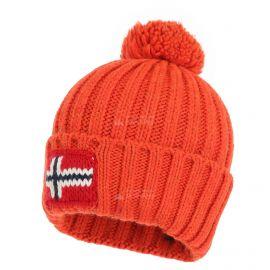Napapijri, Semiury 2 Hat, czapka, pomarańczowy