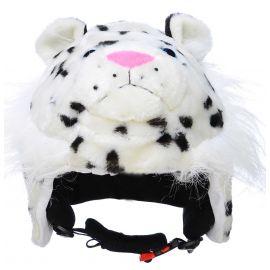 CrazeeHeads, Snow Leopard, pantera śnieżna, nakładka na kask