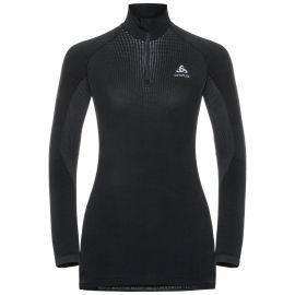 Odlo, Performance Warm BL, koszulka termoaktywna, kobiety, czarny