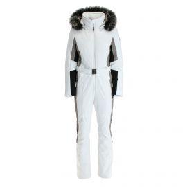 Poivre Blanc, kombinezon narciarski, kobiety, multi biały