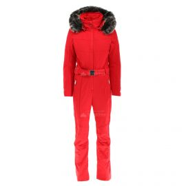 Poivre Blanc, kombinezon narciarski, kobiety, scarlet czerwony
