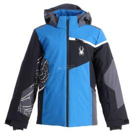 Spyder, Challenger, kurtka narciarska, dzieci, old glory niebieski/czarny