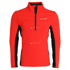 Spyder, Encore halfzip fleece, sweter, mężczyźni, vulcano czerwony