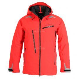 Spyder, Hokkaido GTX, kurtka narciarska, długi model, mężczyźni, volcano czerwony