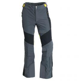 Spyder, Lech, spodnie softshell, mężczyźni, ebony żółty/szary