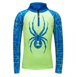 Spyder, Limitless maze zip T-neck, bluza, dzieci, mojito zielony