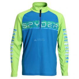 Spyder, Limitless peak zip T-neck, bluza, dzieci, old glory niebieski