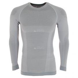 Spyder, Momentum baselayer top, koszulka termoaktywna, mężczyźni, alloy szary