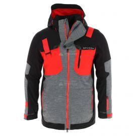 Spyder, Tordrillo GTX, kurtka narciarska, długi model, mężczyźni, czerwony/czarny