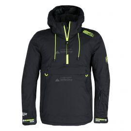 Superdry, SD Mountain Overhead Jacket, kurtka narciarska, mężczyźni, onyx czarny