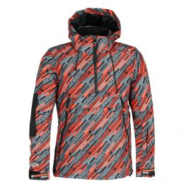 Superdry, SD Mountain Overhead Jacket, kurtka narciarska, mężczyźni, snow speed aop multicolor