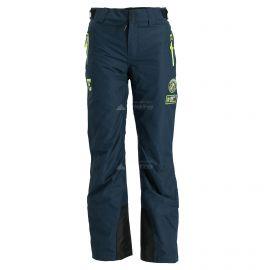 Superdry,SD Ski Run spodnie narciarskie kobiety vortex navy niebieski