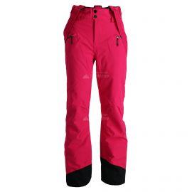 Tenson, Booda W, spodnie narciarskie, kobiety, bright rose różowy