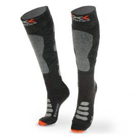 X-socks, SKI SILK MERINO 4.0, skarpety narciarskie, szary