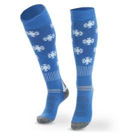 Deluni, Joyride Snowflakes skarpety narciarskie dzieci niebieski